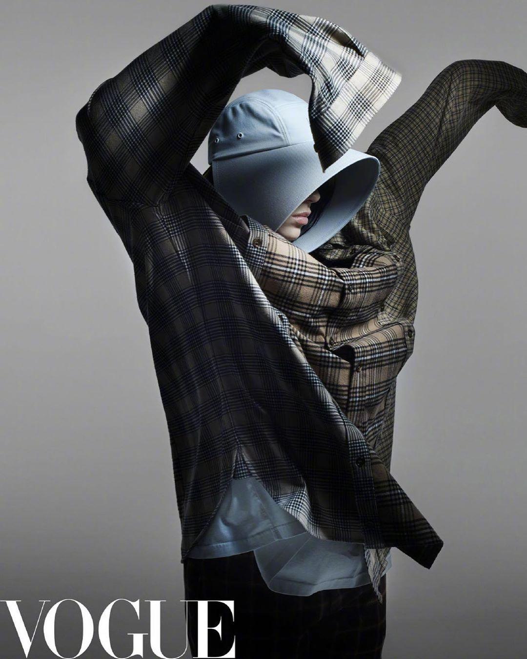 Билли Айлиш снялась для китайского Vogue (фото) - фото №3