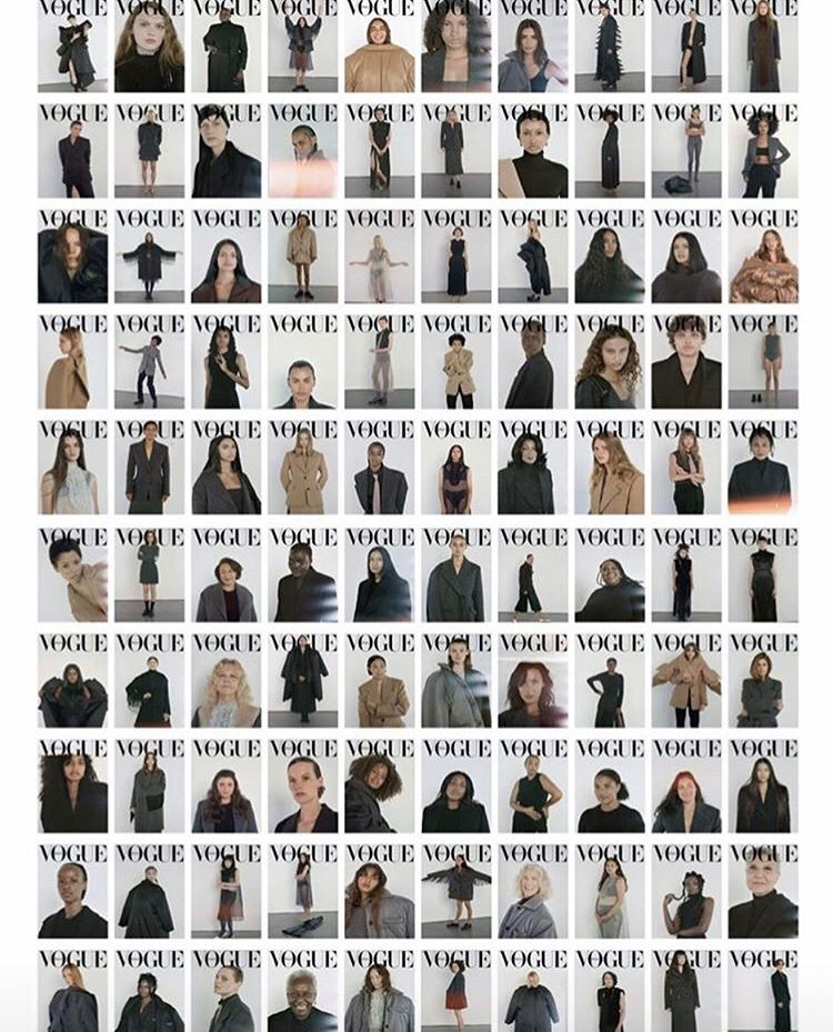 100 обложек — 100 историй. Синди Кроуфорд, Ирина Шейк, Кайя Гербер и другие звезды в новом номере Vogue (ФОТО) - фото №2