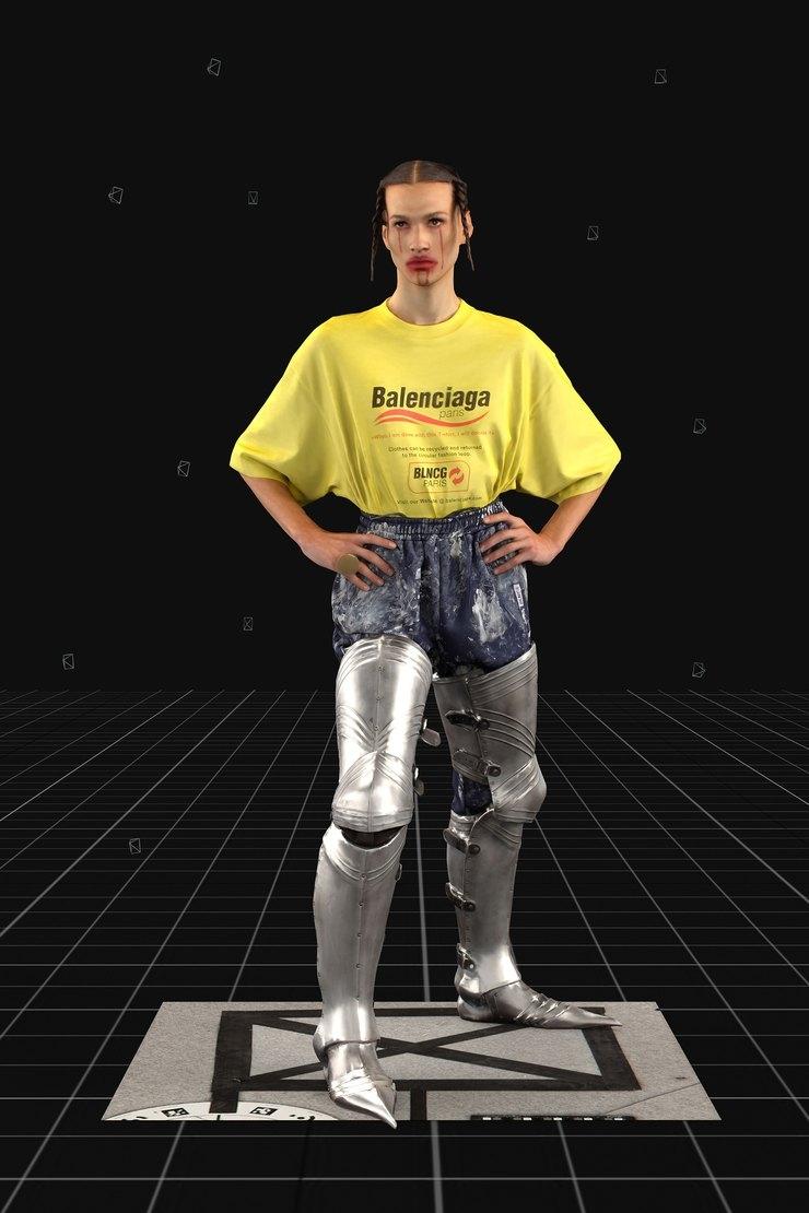 Balenciaga представили новую коллекцию в формате видео-игры - фото №5