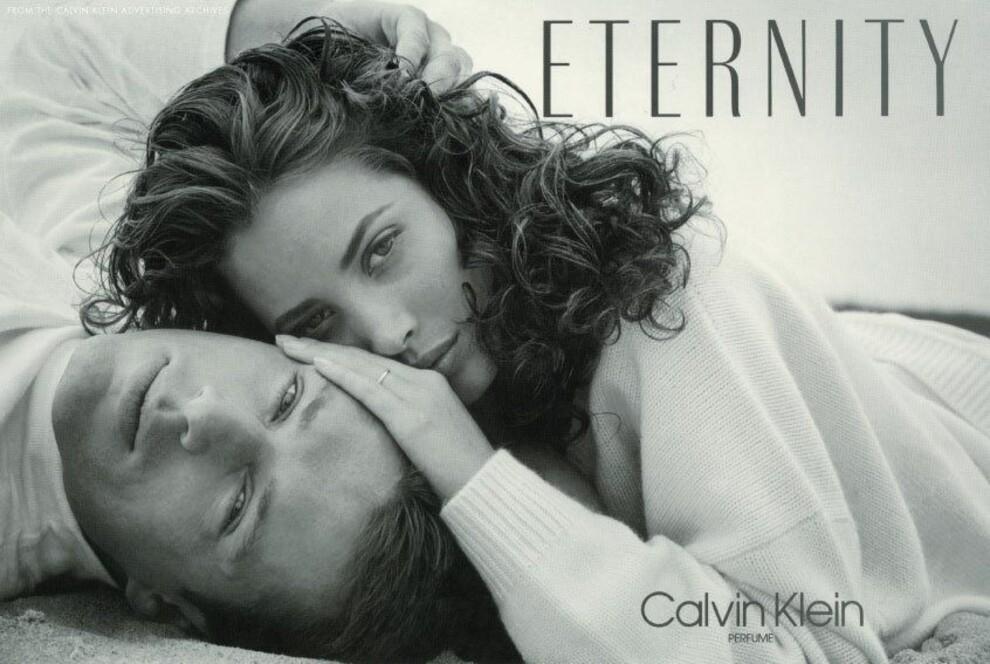 Вечная любовь: супермодель Кристи Тарлингтон и ее муж снялись в рекламе духов Calvin Klein (ФОТО) - фото №2