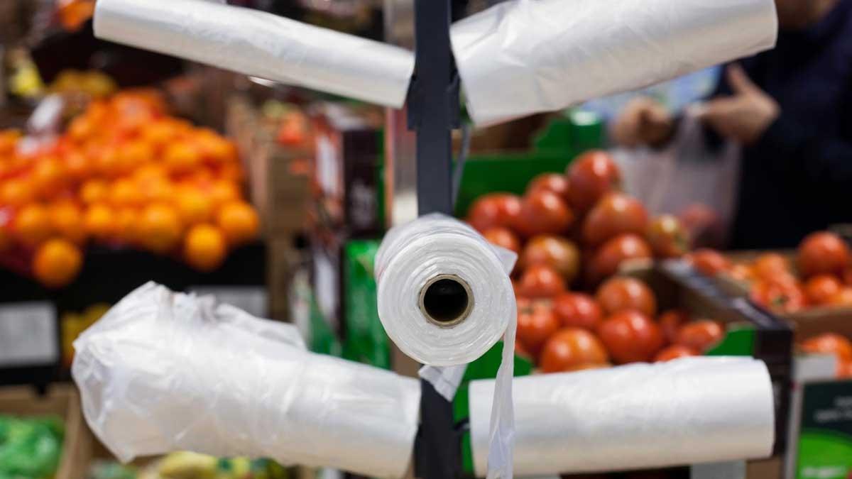 Власти Украины запретили использование пластиковых пакетов - фото №1