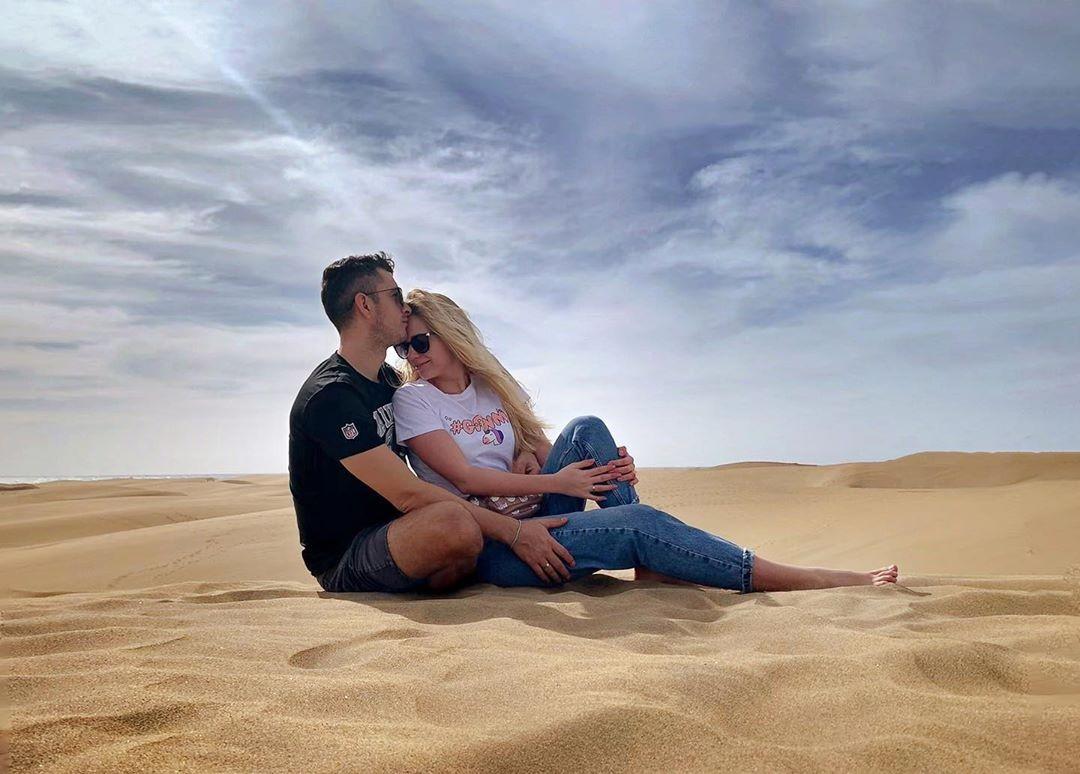 мария мельник фото с мужем