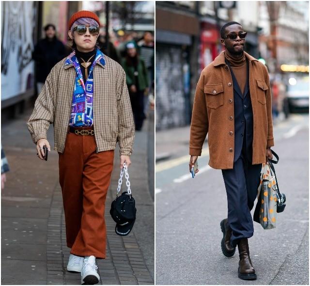 Мужская неделя моды в Лондоне: лучшие стритстайл-образы (ФОТО) - фото №19
