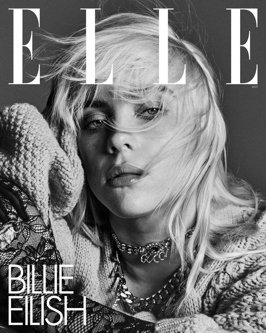 Билли Айлиш снялась в чувственной фотосессии для глянца - фото №5
