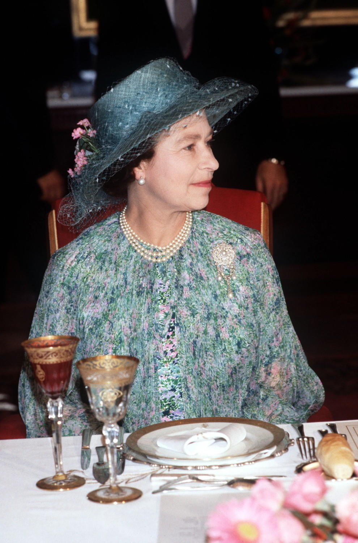 что ест королева елизавета