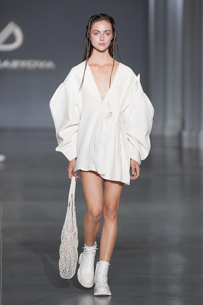 Новое поколение моды: знакомимся с молодыми дизайнерами, которые представили свои коллекции в рамках Ukrainian Fashion Week noseason sept 2021 - фото №7