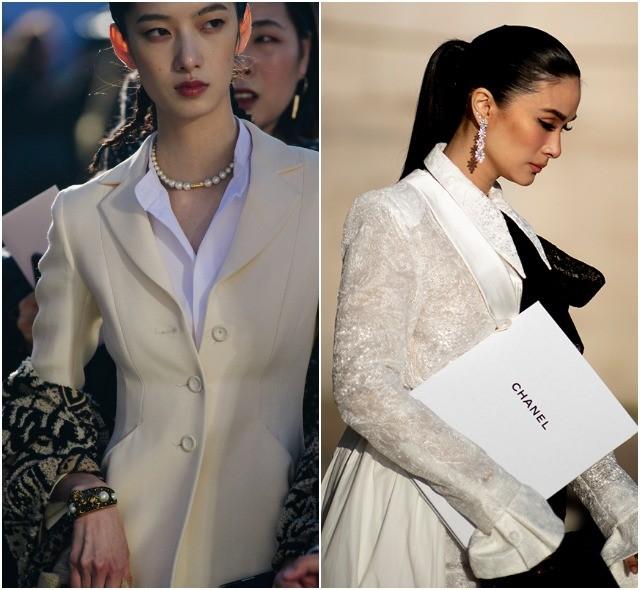Стритстайл на Неделе высокой моды в Париже: как носить кутюр каждый день - фото №35
