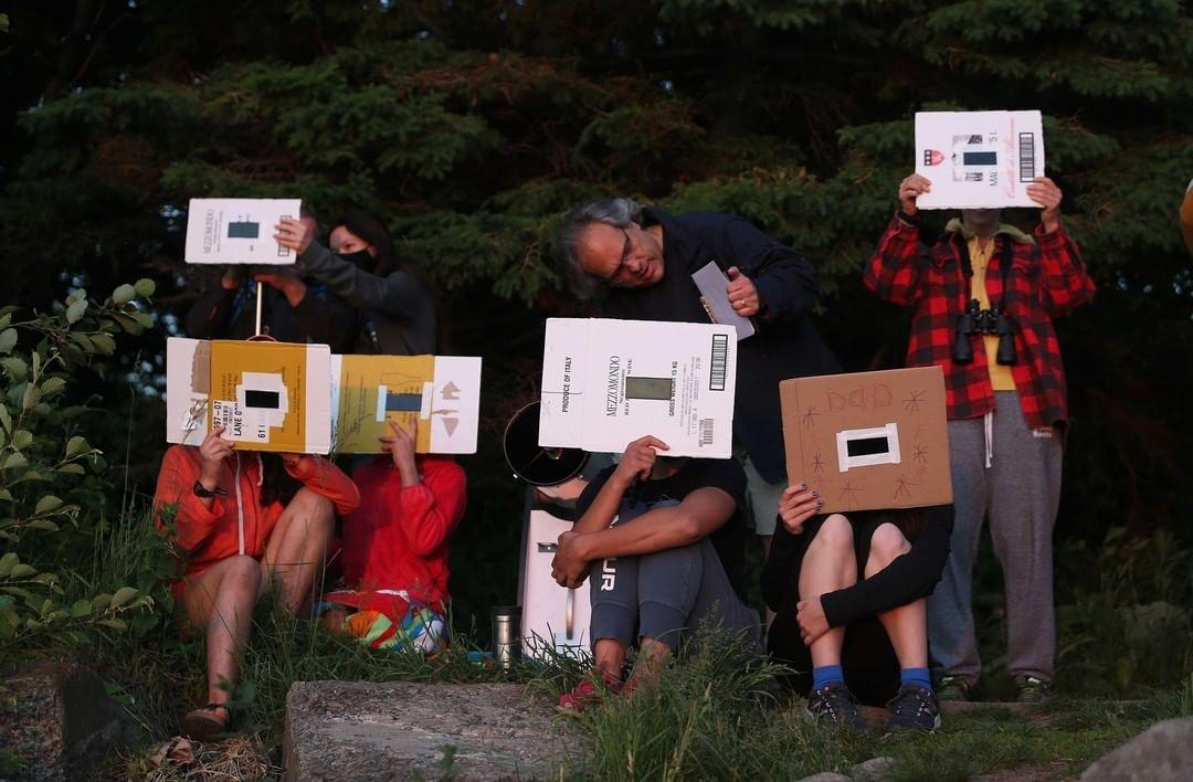 Солнечное затмение 10 июня: весь мир делится эффектными снимками астрономического явления (ФОТО) - фото №3