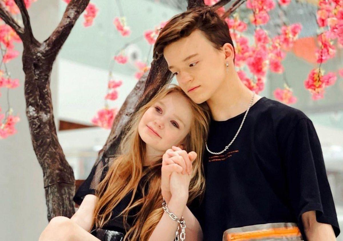 """Страницы 8-летней модели Милы Маханец и ее друга Паши Пай """"исчезли"""" из Instagram - фото №2"""