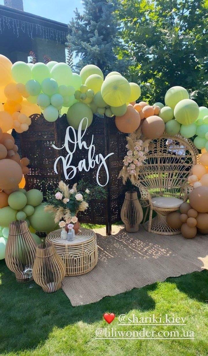Юрий Горбунов устроил для беременной Кати Осадчей вечеринку в честь грядущего пополнения - фото №1