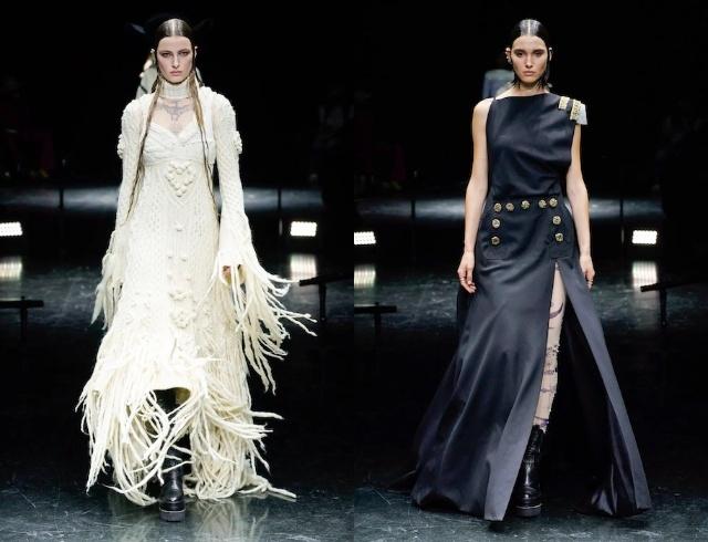 Неделя высокой моды в Париже: рассматриваем коллекции Armani, Jean Paul Gaultier и дургих диазйеров - фото №6