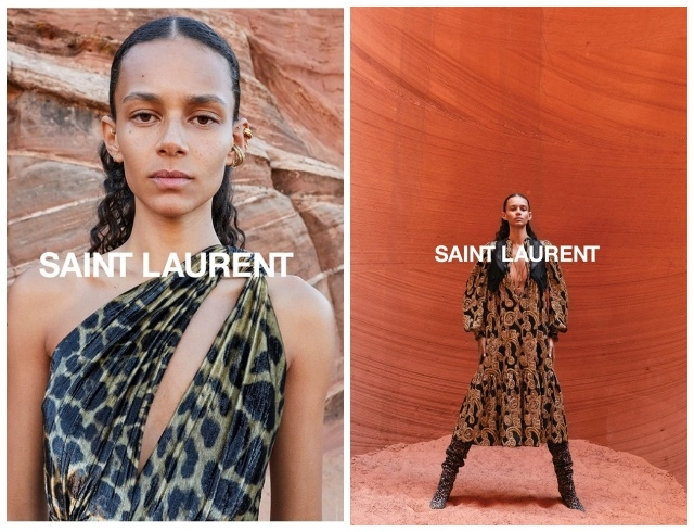 Марокканские мотивы и непревзойденная Зои Кравиц в новой кампании Saint Laurent (ФОТО+ВИДЕО) - фото №2