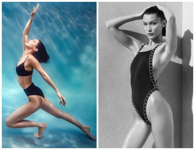 Само совершенство: Белла Хадид в рекламе стильных купальников Calvin Klein (ФОТО) - фото №1