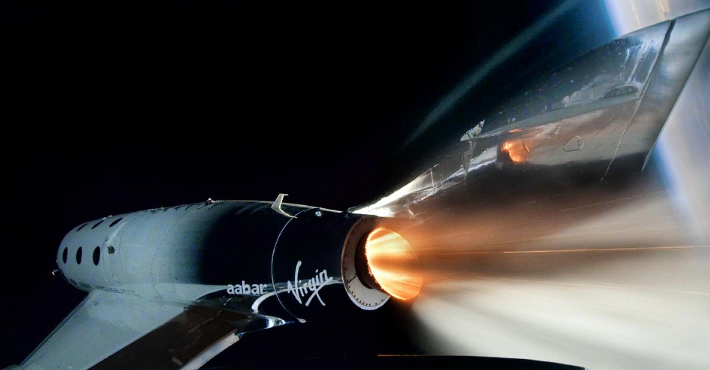 Миллиардер Ричард Брэнсон летит в космос на своем ракетоплане VSS Unity - фото №2