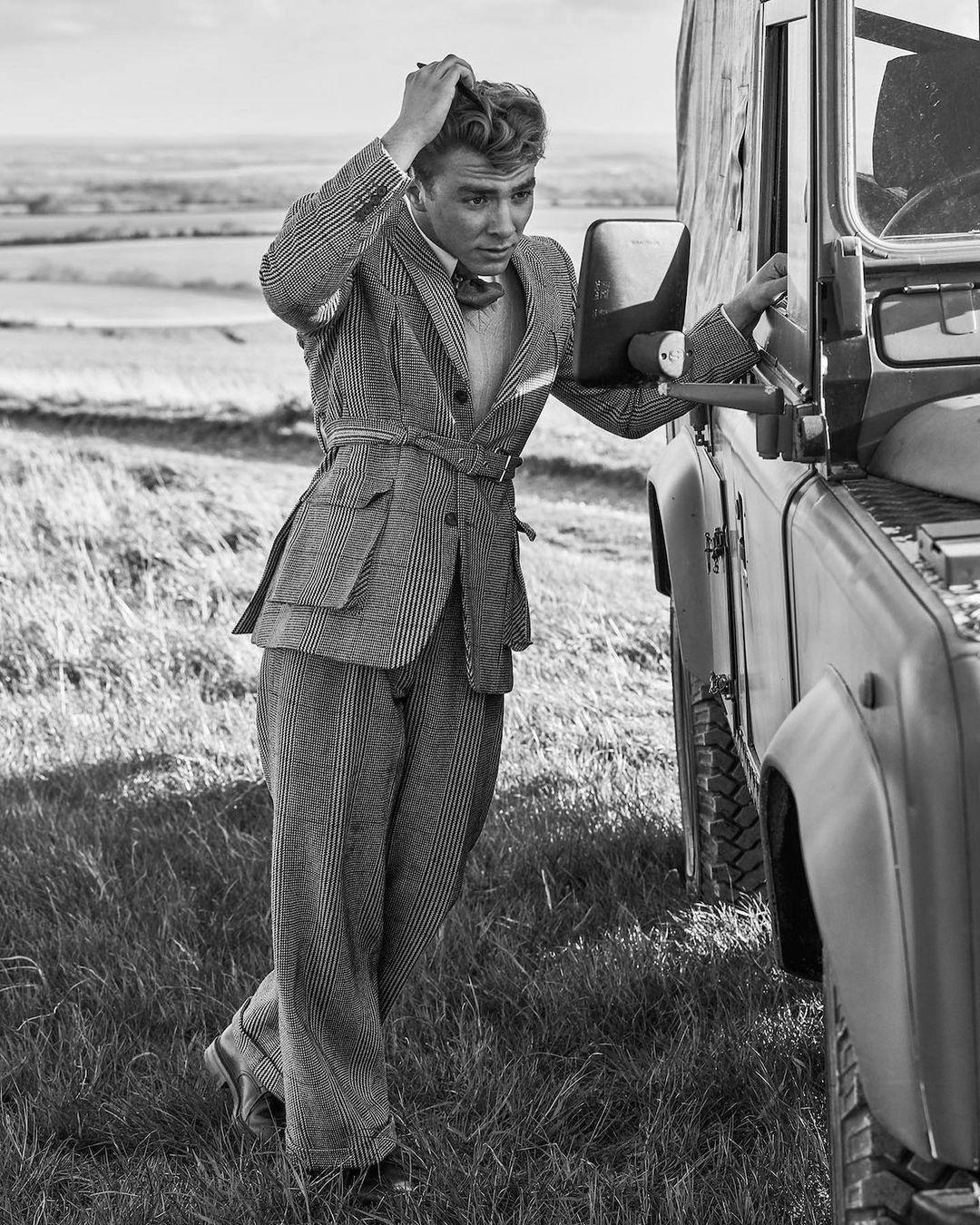 Новое лицо fashion-индустрии: 20-летний сын Мадонны и Гая Риччи стал моделью (ФОТО) - фото №2