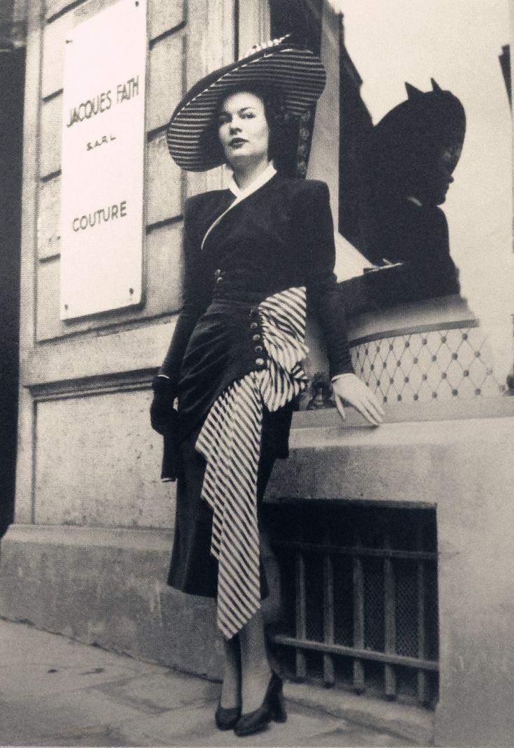 40-е годы мода, винтажные наряды
