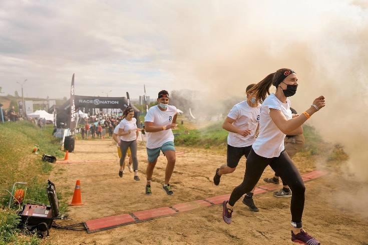 Победители Race Nation: в Киеве состоялся масштабный экстремальный забег с препятствиями - фото №2