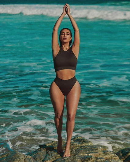 Die verführerische Kim Kardashian stellte eine neue Unterwäschekollektion (FOTO) vor - Foto Nr. 2