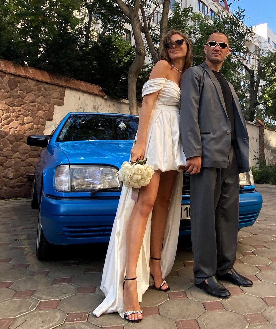 Юрий Бардаш с невестой