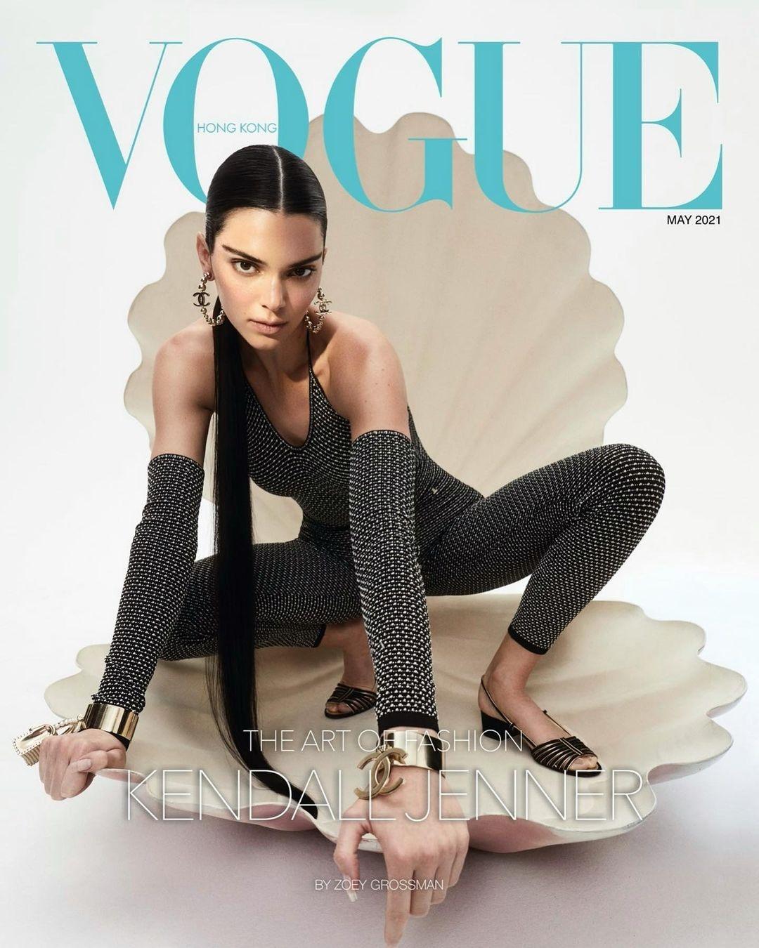 Кендалл Дженнер украсила обложку Vogue и рассказала о панических атаках (ФОТО) - фото №4