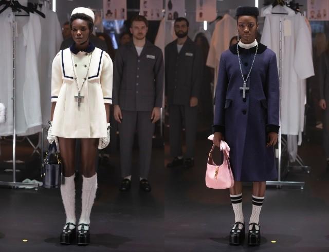 Что скрывается за замочной скважиной: ритуалы и готика в новой коллекции Gucci (ФОТО) - фото №4