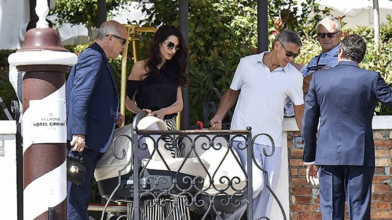 Джордж и Амаль Клуни дети