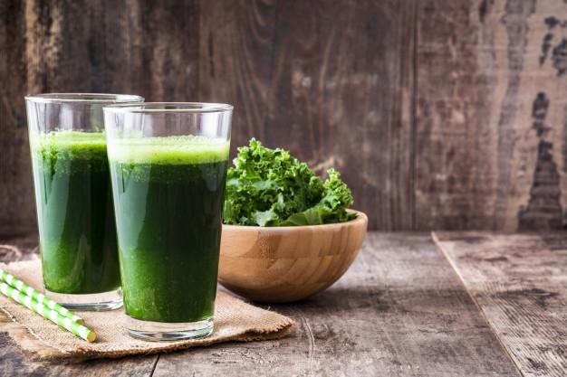 зеленый сок