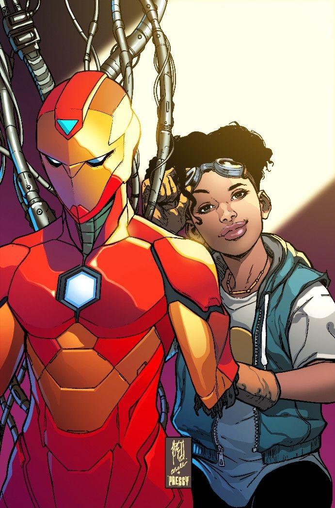 Железного человека в фильмах Marvel заменит темнокожая супергероиня - фото №2