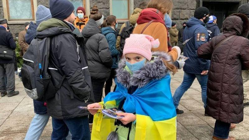 В Киеве прошла акция протеста против приговора политическому активисту Сергею Стерненку - фото №3