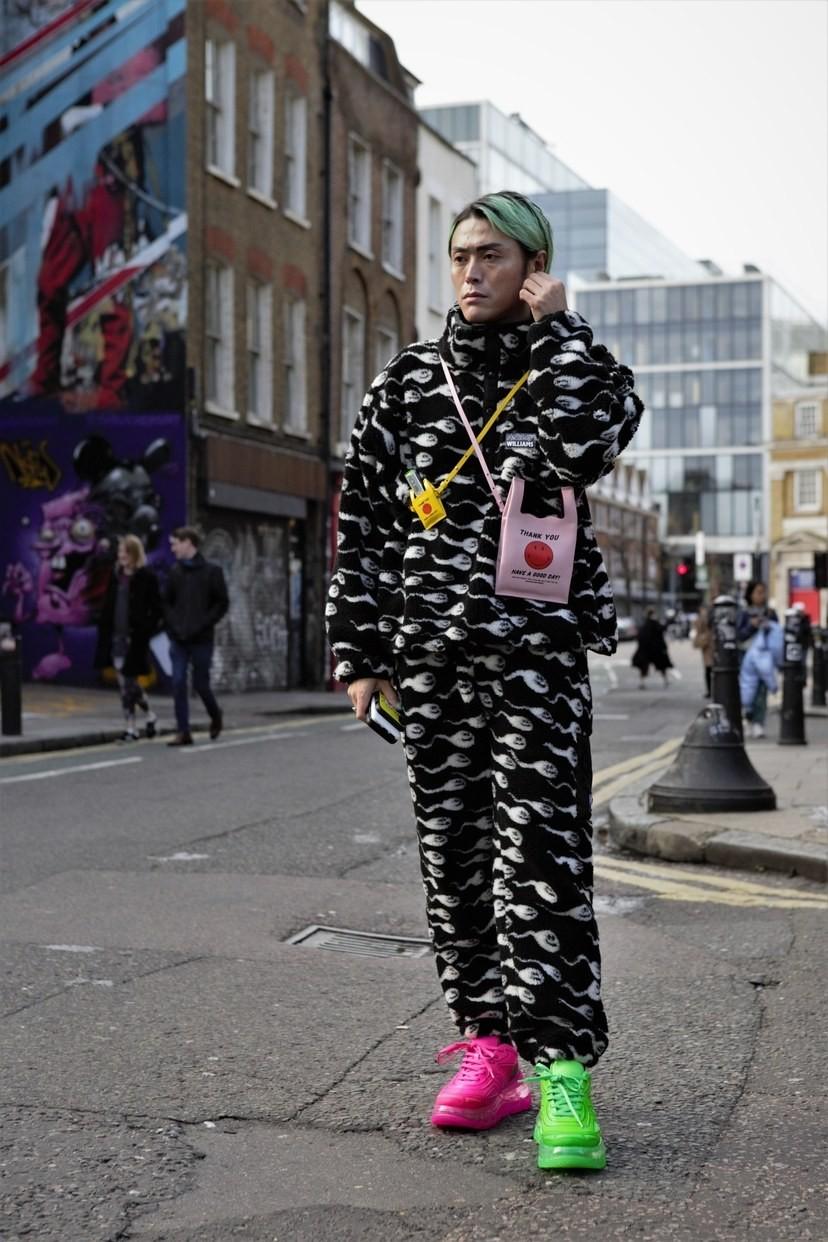 Мужская неделя моды в Лондоне: лучшие стритстайл-образы - фото №3