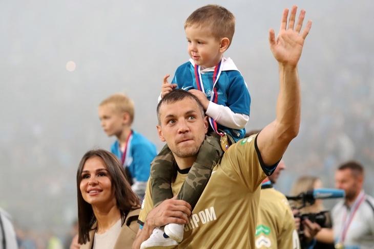 Артем Дзюба стал отцом в третий раз - фото №2