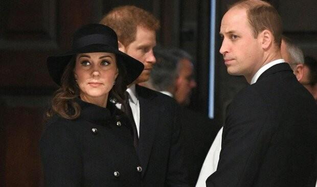 Как Кейт Миддлтон отреагировала на уход Меган Маркл и принца Гарри