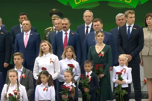 День независимости Белоруссии в Минске 2020