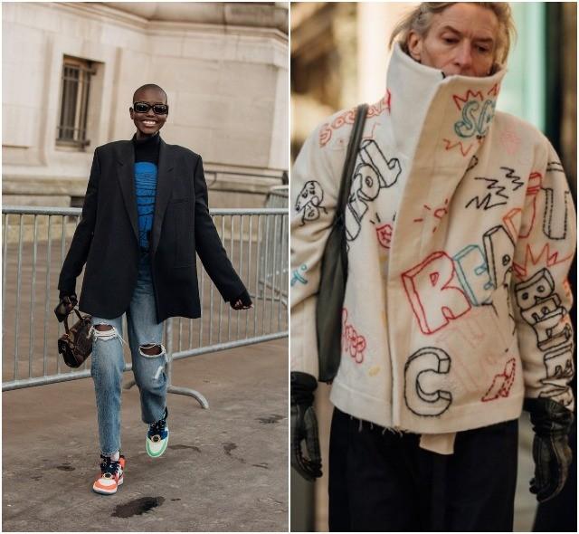 Стритстайл на Неделе высокой моды в Париже: как носить кутюр каждый день - фото №12
