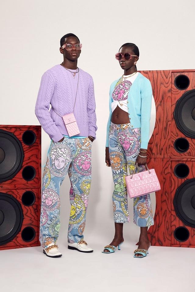Брюки с низкой посадкой и змеиный принт: Versace представили новую круизную коллекцию (ФОТО) - фото №3