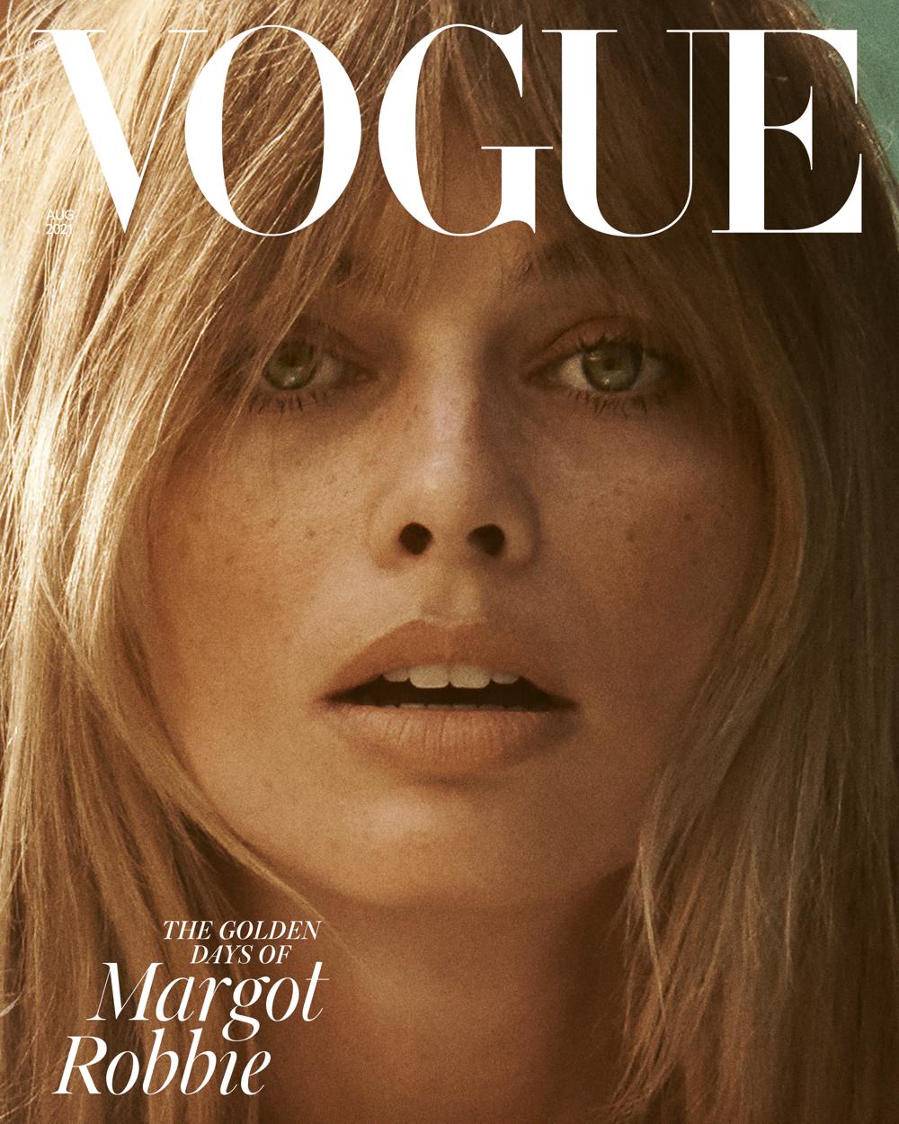 """Звезда """"Отряда самоубийц"""" Марго Робби украсила обложку британского Vogue (ФОТО) - фото №2"""