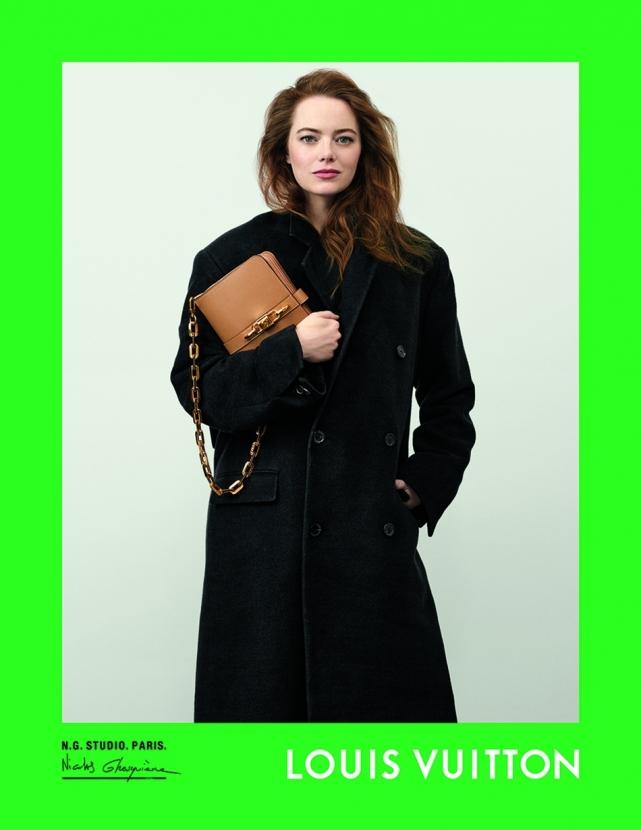 Эмма Стоун, Софи Тернер и другие звезды снялись в рекламе Louis Vuitton (ФОТО) - фото №1