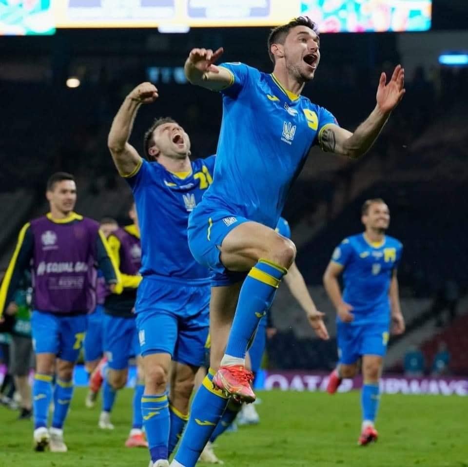 победа украины в матче со шведами