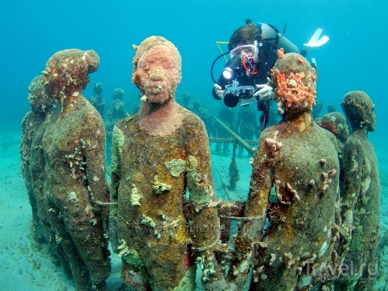 Подводные скульптуры Молинере, Гренада