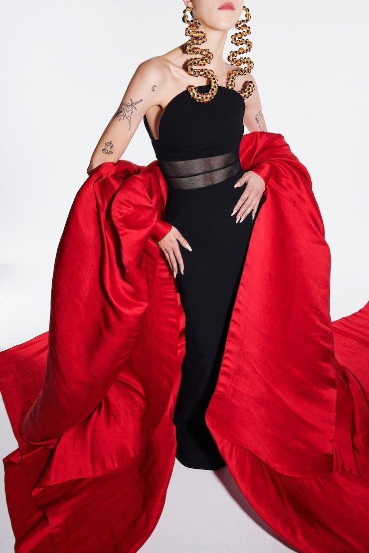 231 секунда высокой моды: обзор новой коллекции Schiaparelli Haute Couture (ФОТО+ВИДЕО) - фото №10