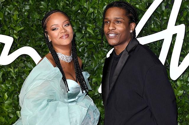 Новый роман: Рианна встречается с рэпером A$AP Rocky - фото №2