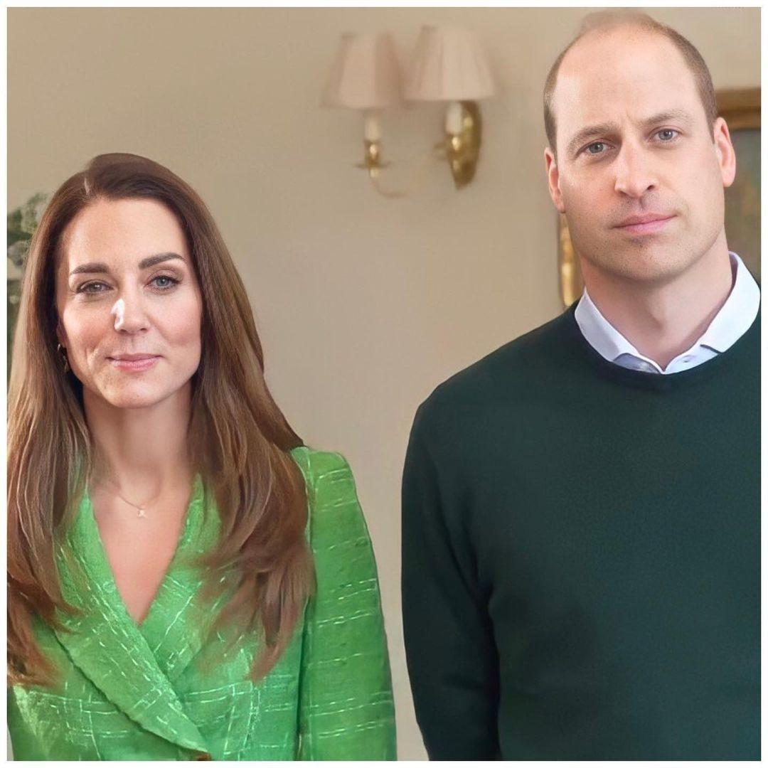В ярко-зеленом пиджаке и золоте: Кейт Миддлтон поздравила всех с Днем святого Патрика (ФОТО) - фото №3