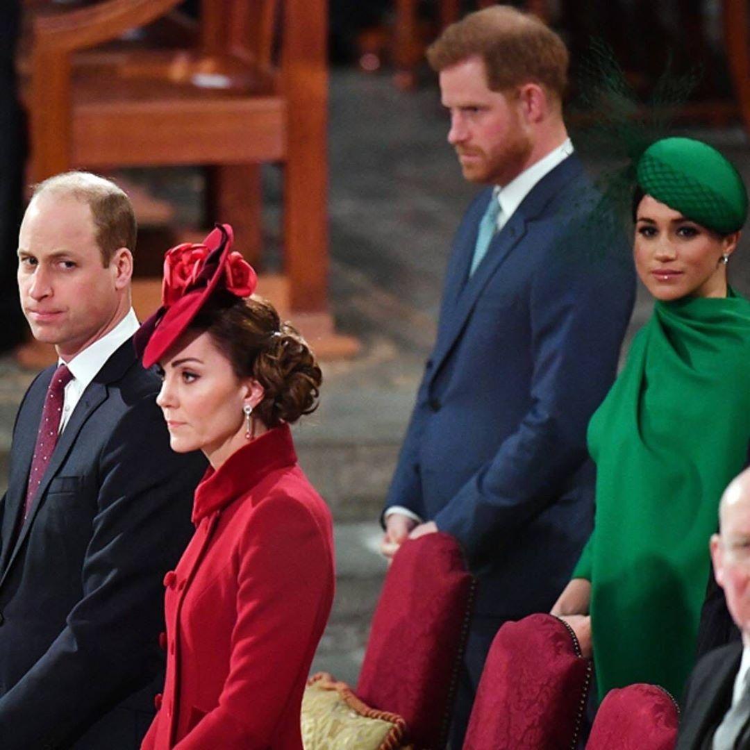 меган маркл и принц гарри попрощались в инстаграм