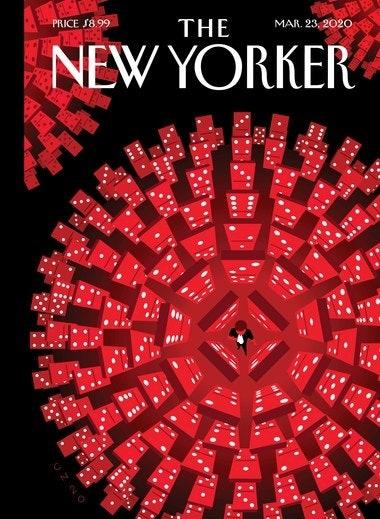 Обложку издания The New Yorker украсил коронавирус (ФОТО) - фото №1