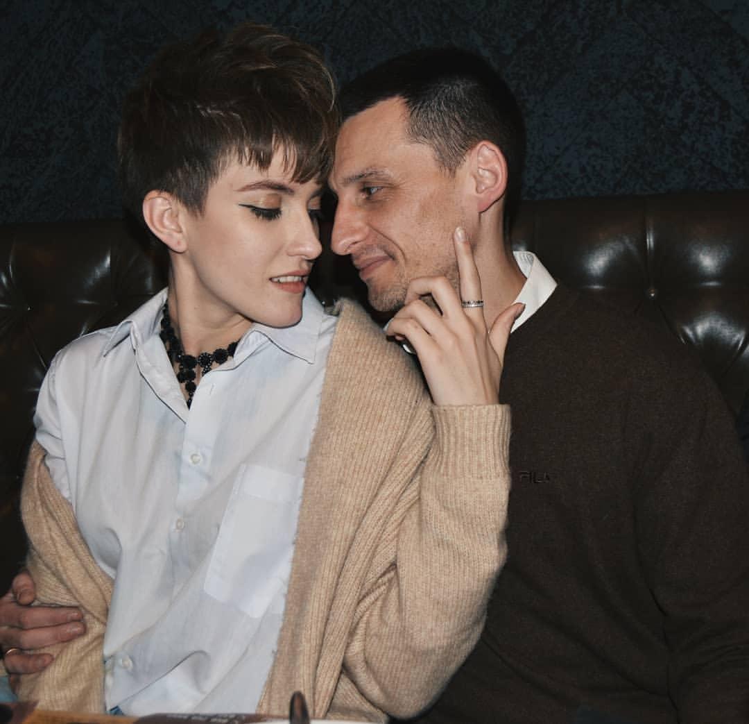 Мальвина Чукля с мужем