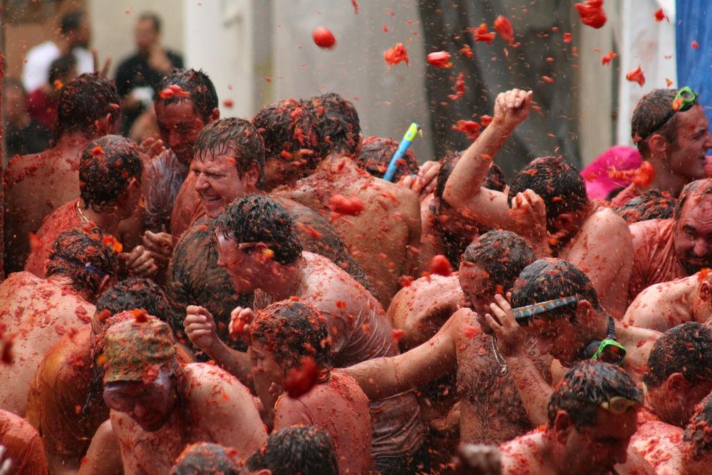 томатина фестиваль