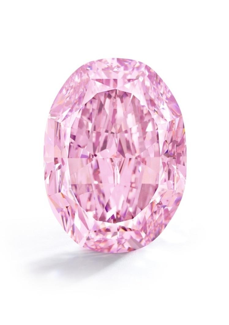 """Самый большой розовый бриллиант """"Призрак розы"""" продан за 26 миллионов долларов - фото №1"""