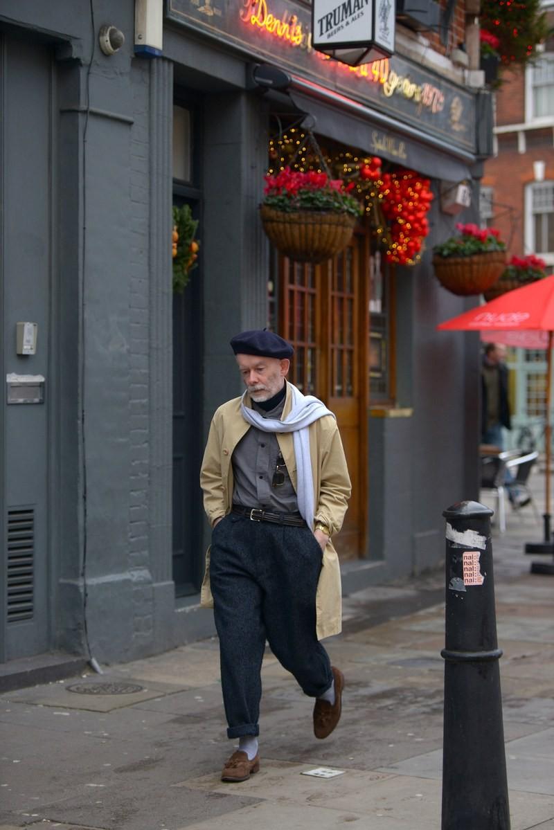 Мужская неделя моды в Лондоне: лучшие стритстайл-образы - фото №7