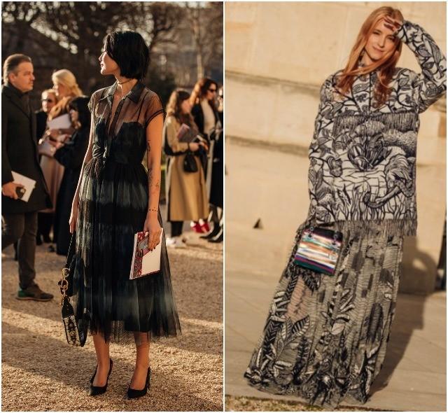 Стритстайл на Неделе высокой моды в Париже: как носить кутюр каждый день - фото №19