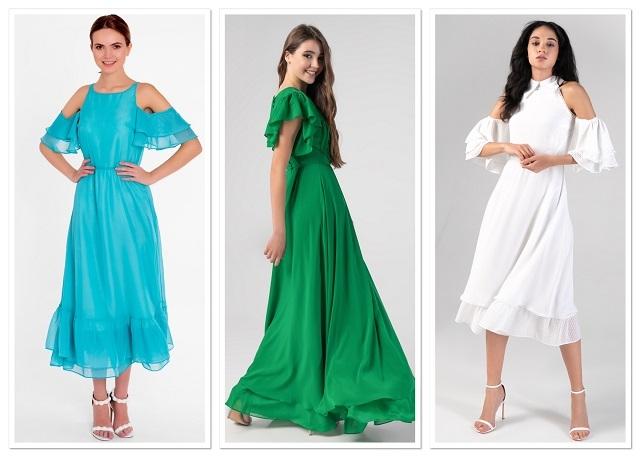 Как выглядеть элегантно этим летом? Стильные фасоны платьев 2020 года (ФОТО) - фото №4